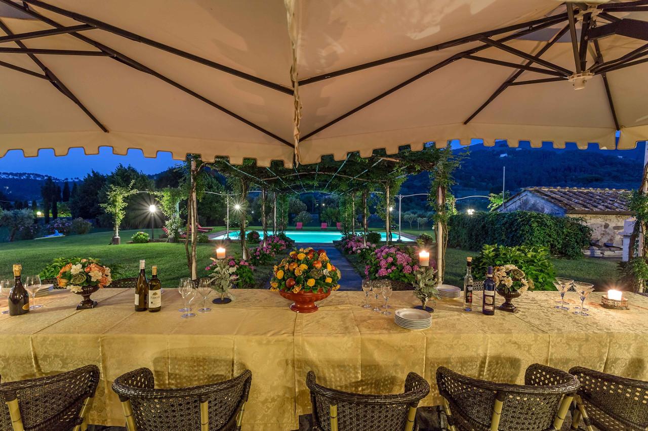 Casa del Fattore - Cena in giardino